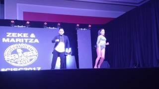 Zeke & Maritza at CISC 2017 - Lola's Mambo - Juan Luis Guerra