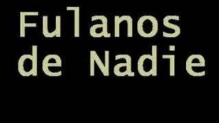 Ivan Noble   Fulanos De Nadie