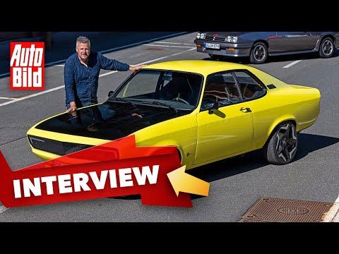 Opel Manta GSe ElektroMOD (2021) |Das macht den E-Manta so besonders |Interview