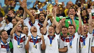 Deutschland Weltmeister 2014 - Germany World Cup - Ein Hoch auf Uns