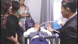 Vanquish Radiofrequency Fat Reduction TV Interview by Dr Chen Tai Ho, Kuala Lumpur
