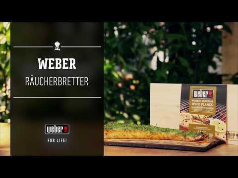 Weber Stephen Grill - Räuchern - Räucherbretter