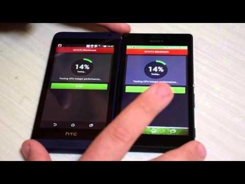 Video confronto: Sony Xperia M2 vs HTC Desire 610