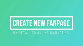 R2O How to create a Facebook FAN Page ?