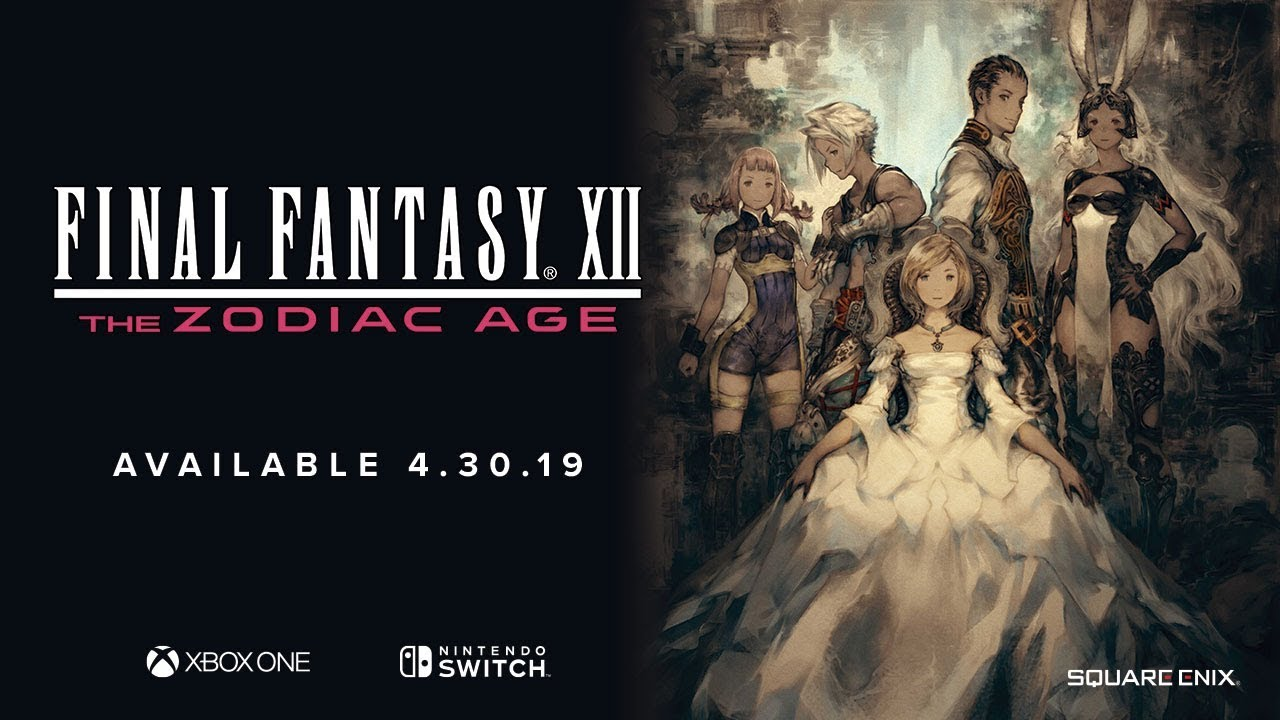 Video FINAL FANTASY® XII THE ZODIAC AGE [XBOX ONE]
