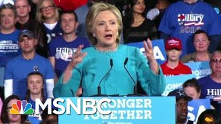 President Donald Trump Seems To Borrow Clinton's 'Stronger Together' | Morning Joe | MSNBC