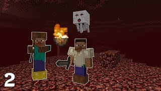 Visiting The Nether In Minecraft 1.0   Part 2 (Back To Basics)