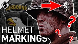 101st Airborne Helmet Markings & D-Day Dropzones [Explained] | Snapshot