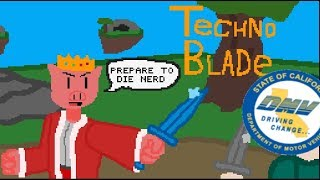 technoblade vs the department of motor vehicles