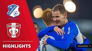 Samenvatting FC Eindhoven - FC Dordrecht (09-11-2020)