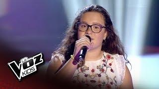 """Elsa: """"Olvidé Respirar"""" – Audiciones A Ciegas  - La Voz Kids 2018"""