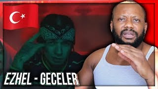 Ezhel   Geceler (Official Video) 2018 TURKISH RAP MUSIC REACTION!!!