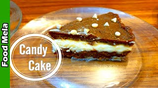 Candy Cake | Candy Cake No Bake | How To Make Biscuit Cake