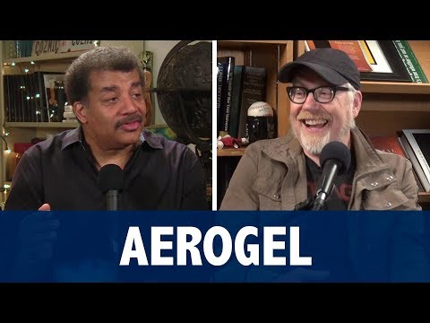 Adam Savage Blown Away by Neil deGrasse Tyson's Aerogel
