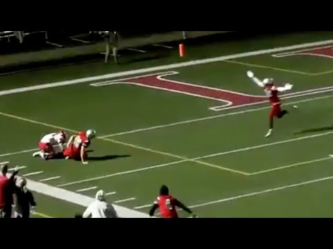 Kicker saves the day with game-winning chase down tackle