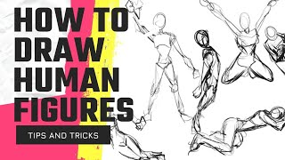 How To Draw HUMAN FIGURES | Memory Drawing Tips & Tricks
