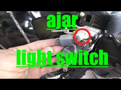 IT'S ALWAYS ON!! Driver Door Ajar Light SWITCH Ford Explorer √ Fix it Angel