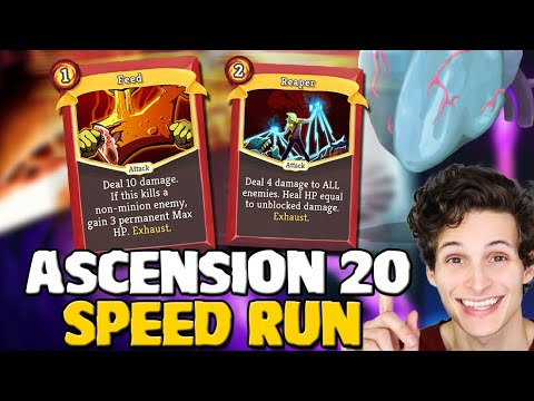 UNBELIEVABLE TRANSFORM! | Ironclad Ascension 20 Speed Run | Slay the Spire