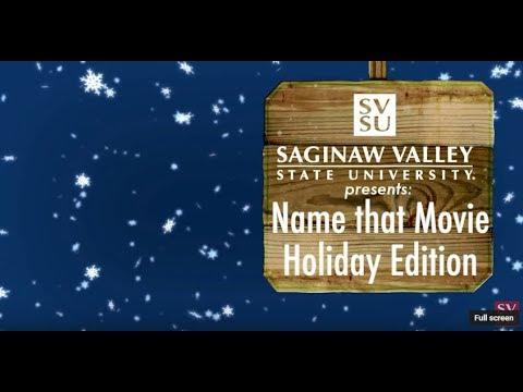 SVSU Holiday React Series 2017 - Guess the Holiday Movie Poster