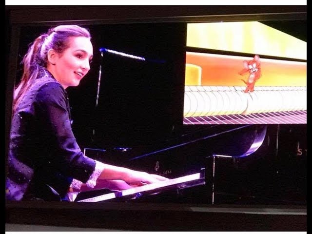 """Emily Bear at Hollywood Bowl : """"The Cat Concerto"""" Tom and Jerry cartoon"""