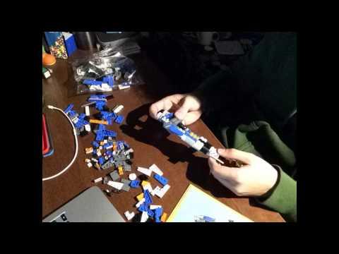 Vidéo LEGO Creator 31008 : L'avion de chasse