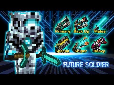 Pixel Gun 3D - Future Soldier Weapons Gameplay