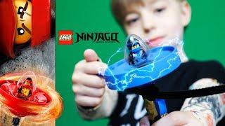 LEGO СПИННЕР! Мастера кружитцу устроили БАТЛ! Прыжки через ПЛЭЙСТЭЙШН! 😱😁😎
