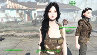 Female Head Redux Ingame Test - First Time