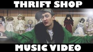 THRIFT SHOP — MACKLEMORE [Clean Music Video]