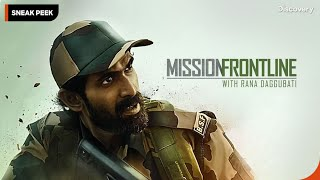 Training With BSF Jawans  Mission Frontline with Rana Daggubati I Premieres 26 July at 10 PM