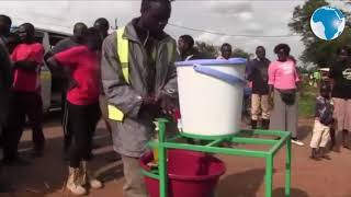Covid-19 pandemic leads to inventive handwashing in Busia