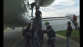 Emergency Exercise: Assumed airplane crash with full rescue team support