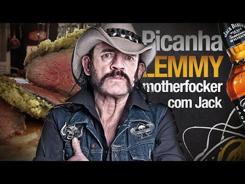 Picanha Lemmy com Jack Daniels e Coca