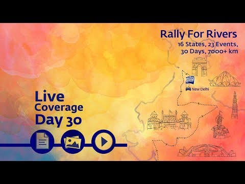 Event Rally for Rivers at Delhi