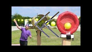 Reverse   Dude Perfect   Blitzball Trick Shots 3