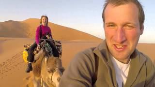 Смотреть онлайн Поездка в Сахара (Мерзуга, Марокко)