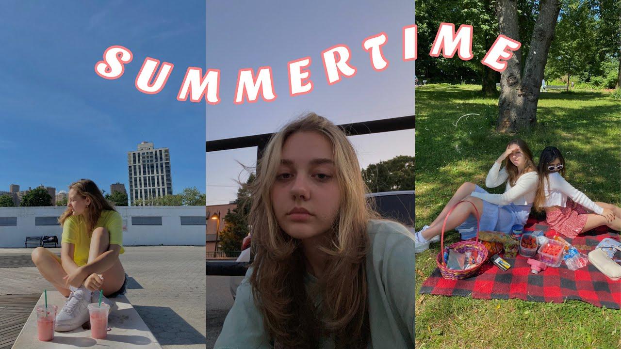 ჩემი ყოველდღიური ცხოვრება ზაფხულში/ ვიღებავ თმას