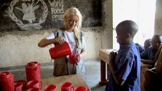 Christina Aguilera's World Hunger Relief Rwanda PSA 2013