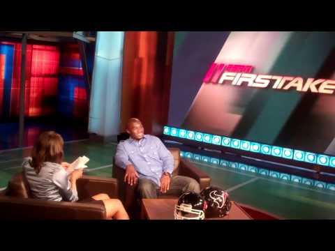 ESPN First Take: Backstage - Texans LB DeMeco Ryans