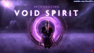 VOID SPIRIT - 4th Spirit | Introducing NEW HERO DOTA Announcement | TI9 Main Event Day 5