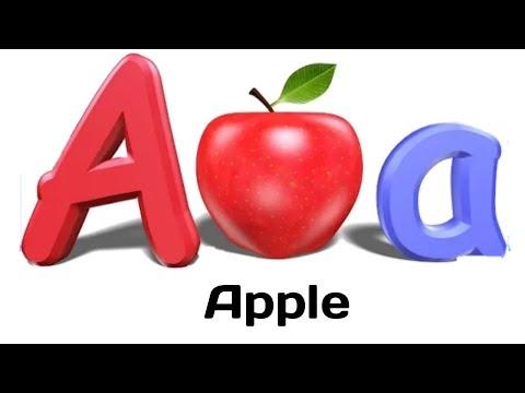 a for apple b for badka apple | alphabet song nursery rhymes jollibee | english alphabet