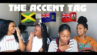 CARIBBEAN ACCENT TAG | BERMUDA, BRITISH VIRGIN ISLANDS, & JAMAICA