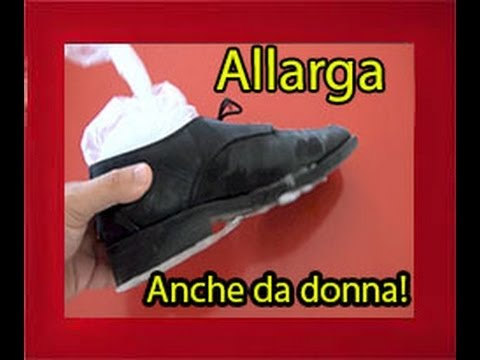 Come allargare le scarpe con il ghiaccio how to enlarge your shoes with ice