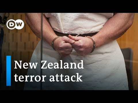 New Zealand mosque shooting suspect identified and charged in court | DW News