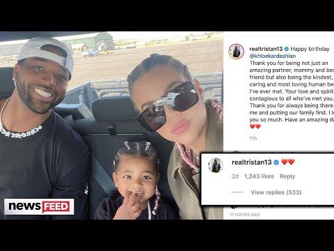 Khloé Kardashian GUSHED Over By Tristan Thompson Amid Split Rumors!