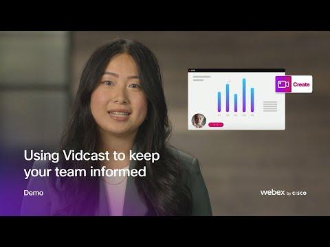 Vidcast Demo
