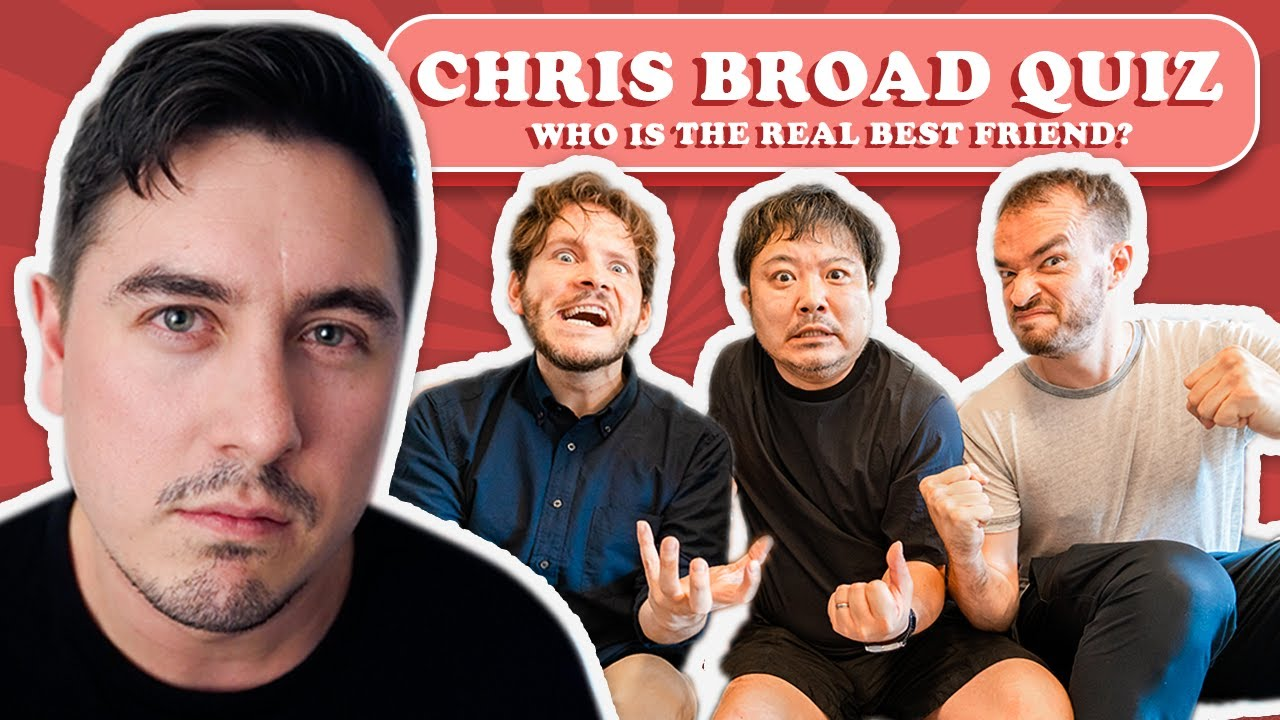 The Ultimate Abroad In Japan Quiz - Chris�s Bestie Revealed Thumbnail