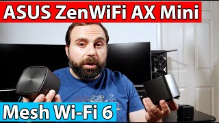 ASUS ZenWiFi AX Mini (XD4) Unboxing and Review | WiFi 6 Mesh