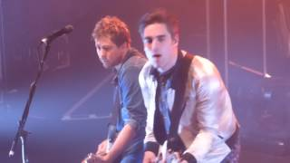 Busted Crashed The Wedding Night Driver Tour Dublin 01 03 17