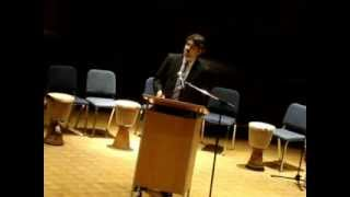Scott Fee's remarks at the Jan. 21, 2013 Pathfinder Awards - Video Youtube